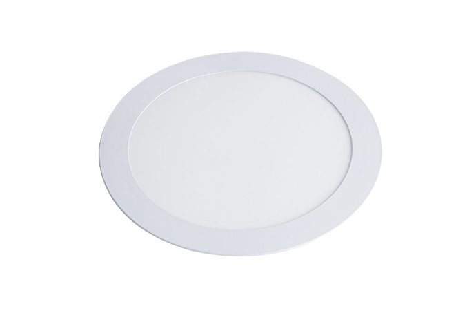 Luminária/Painel de Embutir LED Slim Redonda 18W 3000K - Startec