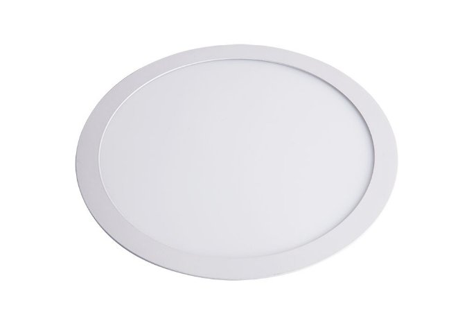Luminária/Painel de Embutir LED Slim Redonda 24W 6500K - Startec