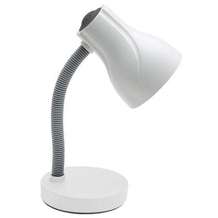 Luminária de Mesa Escritório Spiralle Branco  - Startec