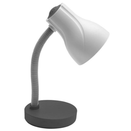 Luminária de Mesa Escritório Spiralle Cinza  - Startec