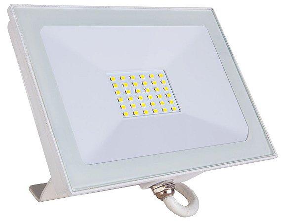 Refletor Holofote LED Branco 100W 6500K Bivolt - Startec