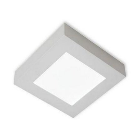 Luminária/Plafon Sobrepor LED Quadra 24W 4000K - Startec
