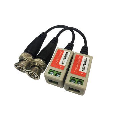 Kit Conector de Vídeo Balun AHD