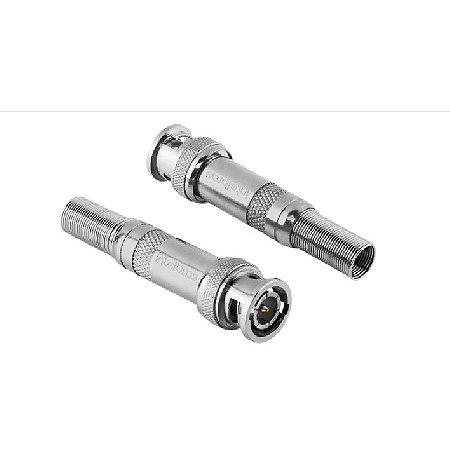 Kit C/10 Conector P/Câmeras Bnc Com Mola- Intelbras
