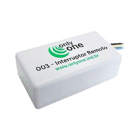 Módulo Interruptor Remoto 003 - Only One