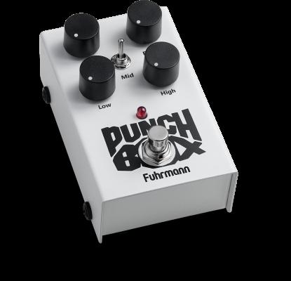 PEDAL FURHMANN PUNCH BOX PB-01