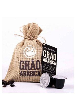 Café Grão Arábica Torra Média Capsula
