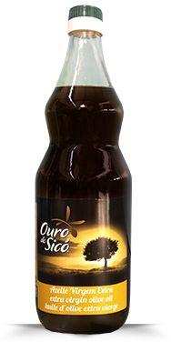 Azeite de Oliva Extra Virgem Ouro De Sicó 1L - 0,2% Acidez