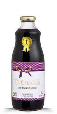 Suco de Uva Tinto Integral Di Creazzo 1L