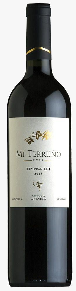 Mi Terruño Varietal Tempranillo 2018 Tinto