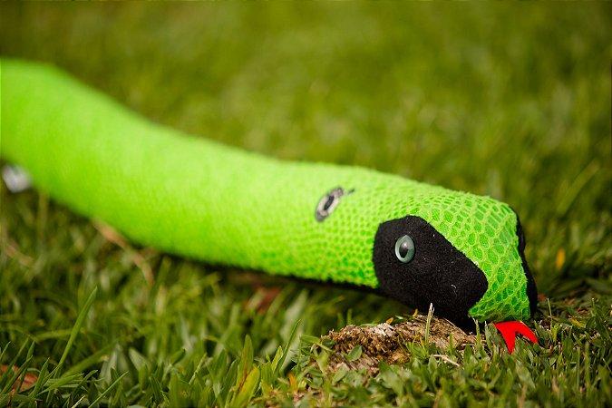 Pelúcia Cobra Verde