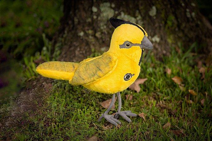 Pelúcia Cardeal Amarelo