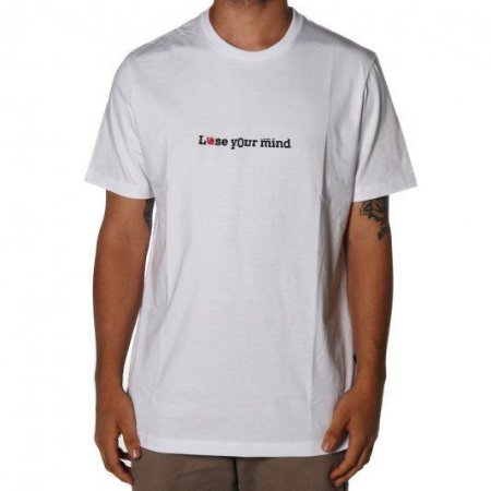Camisa Lost Lose  Your Mind - Branca