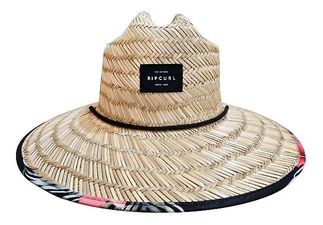 Chapéu De Palha Rip Curl Maui