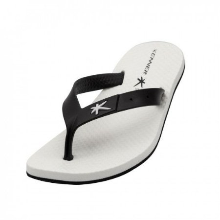 Chinelo Kenner SUMMER Branco/Preto