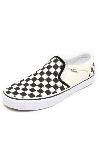 TÊNIS VANS ASHER SLIP ON - XADREZ