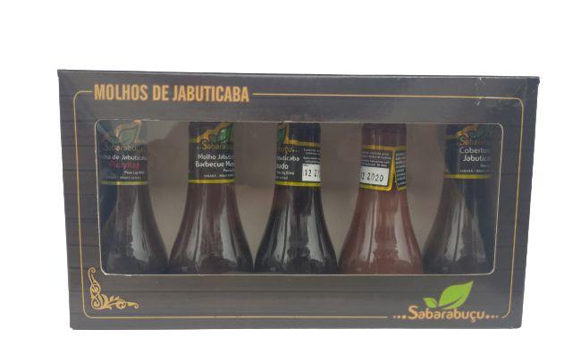 Kit C/ 5 Molhos de Jabuticaba