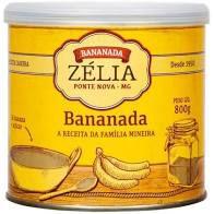 Bananada Zélia (Diversos Tamanhos)