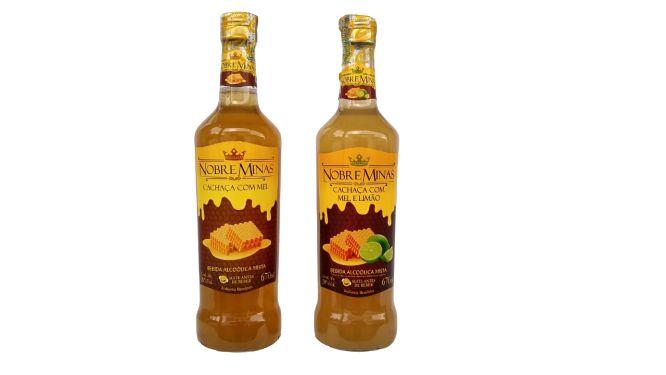 Cachaça Nobre Minas C/ Fruta - 670ml ou 275ml (Diversos Sabores)