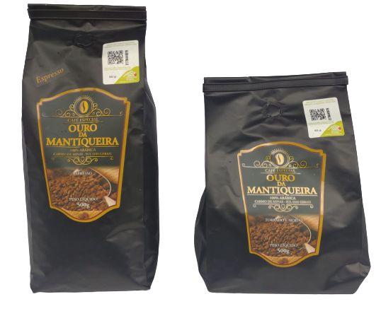 Café Ouro da Mantiqueira (Espresso ou Torrado e Moído)