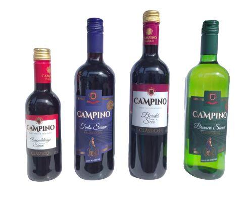 Vinho Campino (Diversos Sabores)