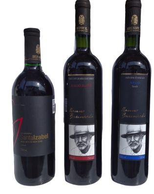 Vinho Brunholi (Bordô Seco, Suave ou Tinto)