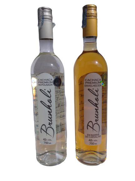Cachaça Premium Brunholi (Envelhecida ou Repousada)