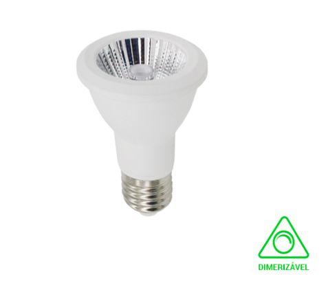 LAMPADA LED PAR20 6W DIMERIZAVEL IRC90 2700K BIVOLT