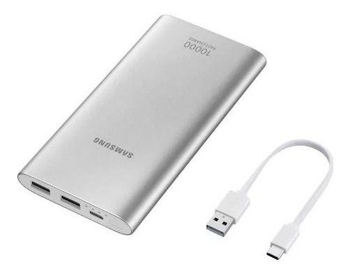 Bateria Externa Samsung Carga Rápida 10.000mah UsbEB-P1100CS
