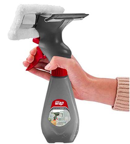 Rodo Limpa Vidros 3 em 1 MOP Spray com Reservatório 300ml WA