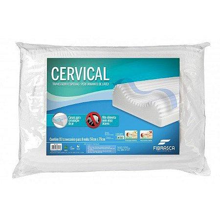 Travesseiro Cervical Performance de Látex - Fibrasca 4275