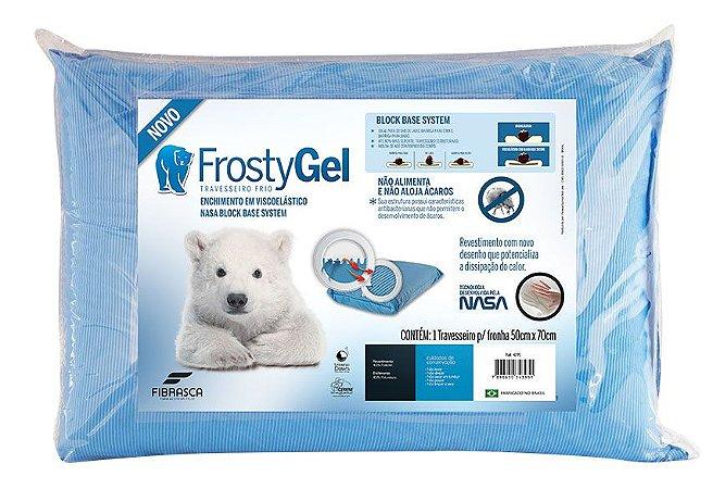 Travesseiro FrostyGel Nasa - Fibrasca 4395