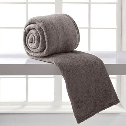 Cobertor Microfibra Solteiro - Caqui - Bari