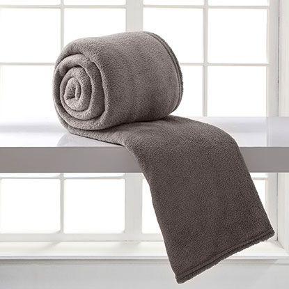 Cobertor Microfibra Casal - Caqui - Bari