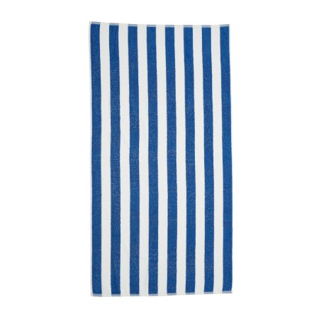 Toalha Gigante para Praia e Piscina Listrada Stripes - Azul - Santista