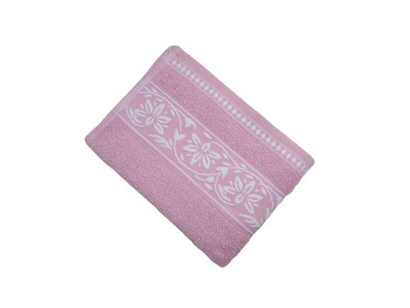Toalha de Rosto Ornato - Rosa - Olinda Têxtil