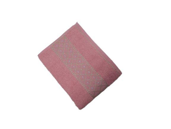 Toalha de Rosto Verona - Rosa Cha - Olinda Têxtil 5307