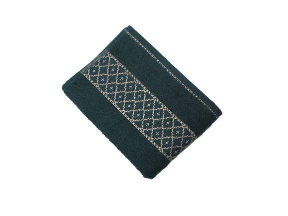 Toalha de Rosto Verona - Verde Imperial - Olinda Têxtil 2485