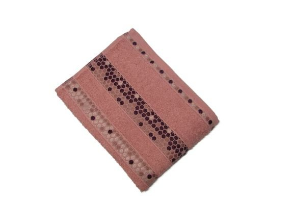 Toalha de Rosto Prisma - Rose - Olinda Têxtil 3629