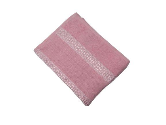 Toalha de Rosto Florence - Rosa Claro - Olinda Têxtil 4001