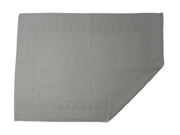 Toalha De Piso Para Banheiro - Prata - Olinda Têxtil
