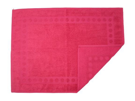 Toalha De Piso Para Banheiro - Hibisco - Olinda Têxtil