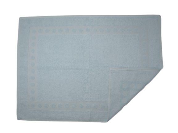 Toalha De Piso Para Banheiro - Azul Sky - Olinda Têxtil