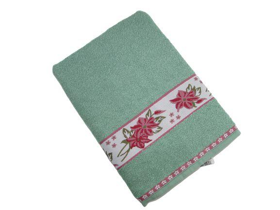 Toalha de Banho Luna - Capim - Olinda Têxtil