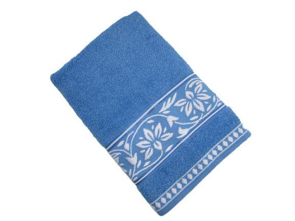Toalha de Banho Ornato - Azul - Olinda Têxtil