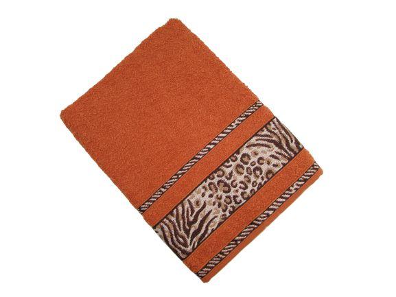 Toalha de Banho Africa - Ferrugem - Olinda Têxtil