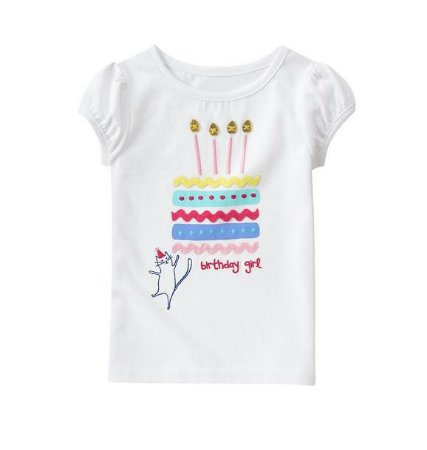 BLUSA BIRTHDAY GIRL GYMBOREE