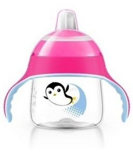 COPO PINGUIM ROSA 200ML AVENT