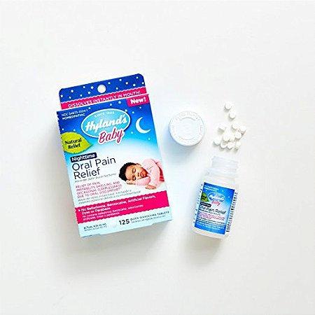 Tabletes de alívio de dor oral  Hyland Noturno