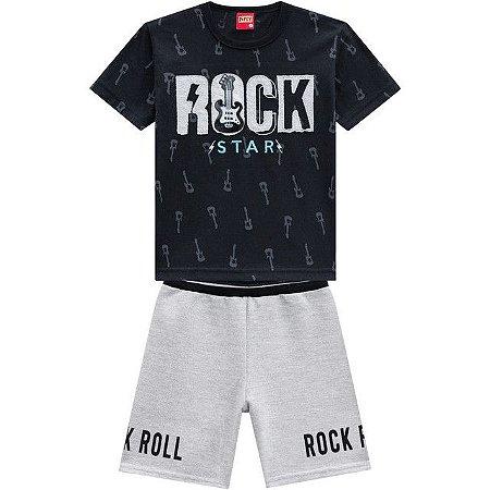 CONJUNTO PRETO ROCK STAR KYLY